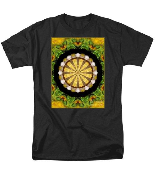 Amazon Kaleidoscope Men's T-Shirt  (Regular Fit) by Debbie Stahre