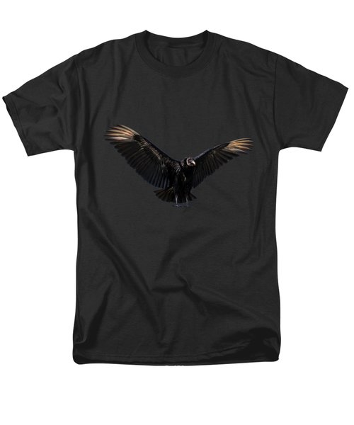 American Black Vulture Men's T-Shirt  (Regular Fit) by Zina Stromberg