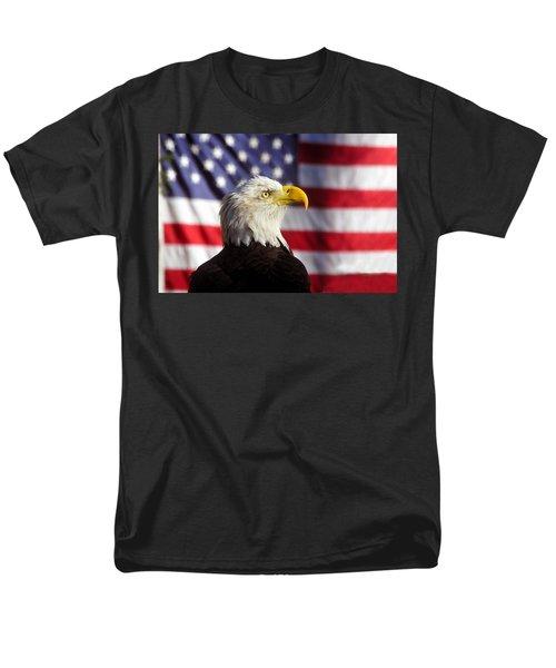 American Eagle Men's T-Shirt  (Regular Fit) by David Lee Thompson