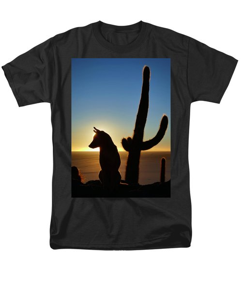 Men's T-Shirt  (Regular Fit) featuring the photograph Amigo by Skip Hunt