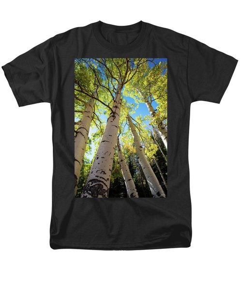 Men's T-Shirt  (Regular Fit) featuring the photograph Aspen Dance by Dana Sohr
