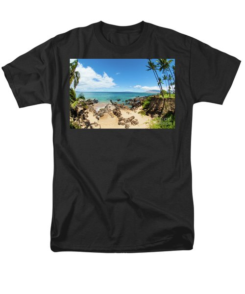 Men's T-Shirt  (Regular Fit) featuring the photograph Amzing Beach In Hawaii Islands by Micah May