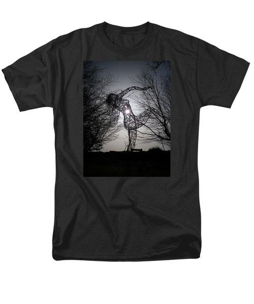 An Eclipse Of The Heart? Men's T-Shirt  (Regular Fit) by Richard Brookes