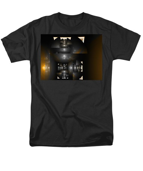 An Interior Space Abstract Men's T-Shirt  (Regular Fit) by Richard Ortolano