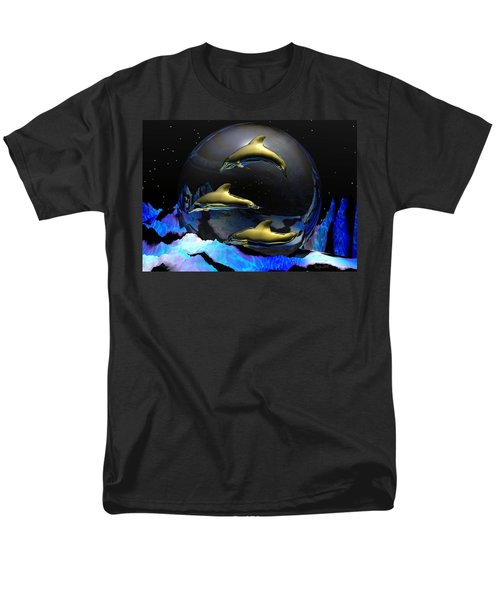 An Ocean Full Of Tears Men's T-Shirt  (Regular Fit) by Robert Orinski