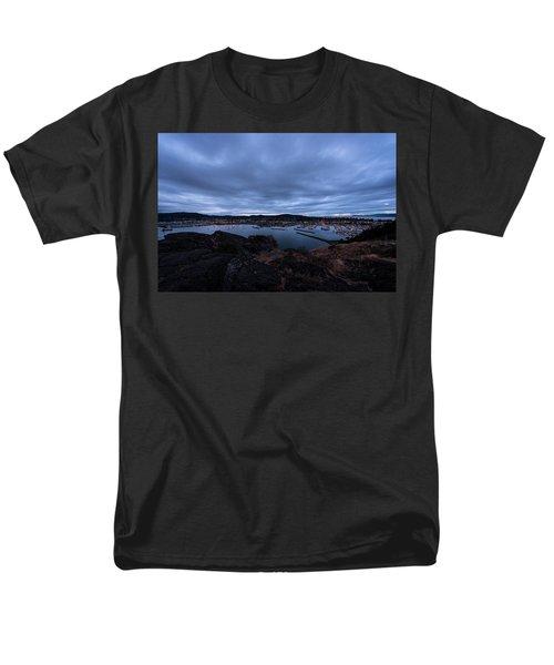 Anacortes  Men's T-Shirt  (Regular Fit) by Sabine Edrissi