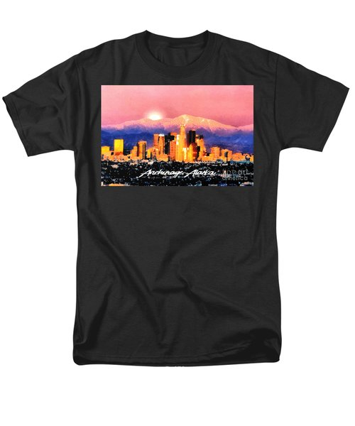 Anchorage - Bright-named Men's T-Shirt  (Regular Fit) by Elaine Ossipov