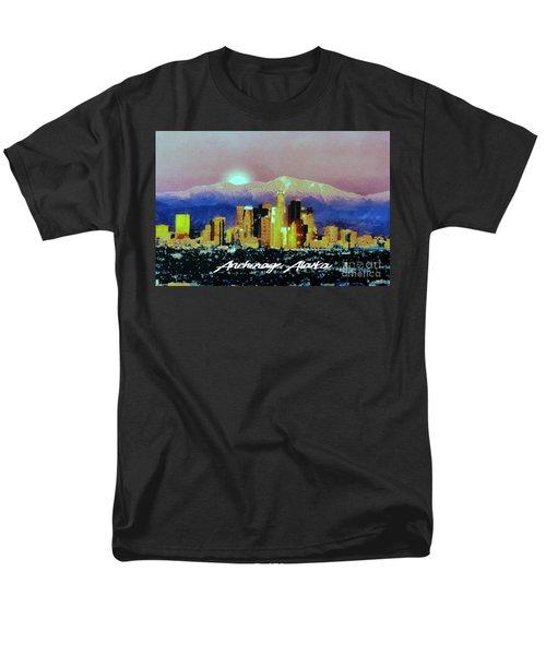 Anchorage-subdued Men's T-Shirt  (Regular Fit)