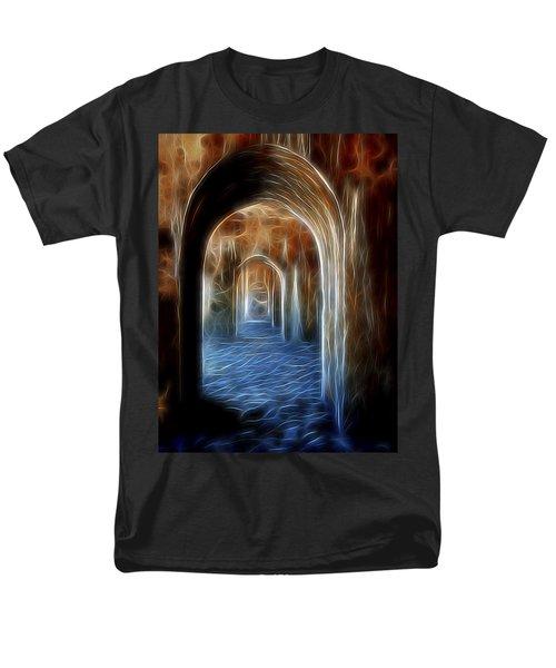 Ancient Doorway 5 Men's T-Shirt  (Regular Fit) by William Horden