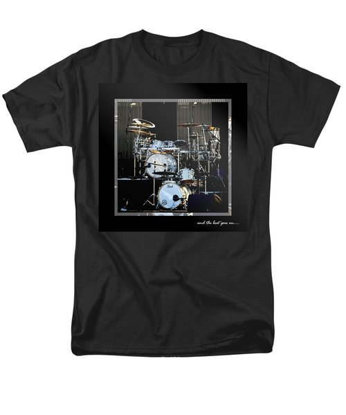 And The Beat Goes On.... Men's T-Shirt  (Regular Fit) by Holly Kempe