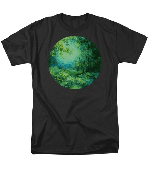 And Time Stood Still Men's T-Shirt  (Regular Fit) by Mary Wolf