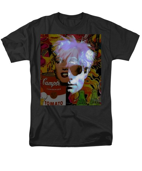 Andy Warhol Collectioin Men's T-Shirt  (Regular Fit) by Marvin Blaine