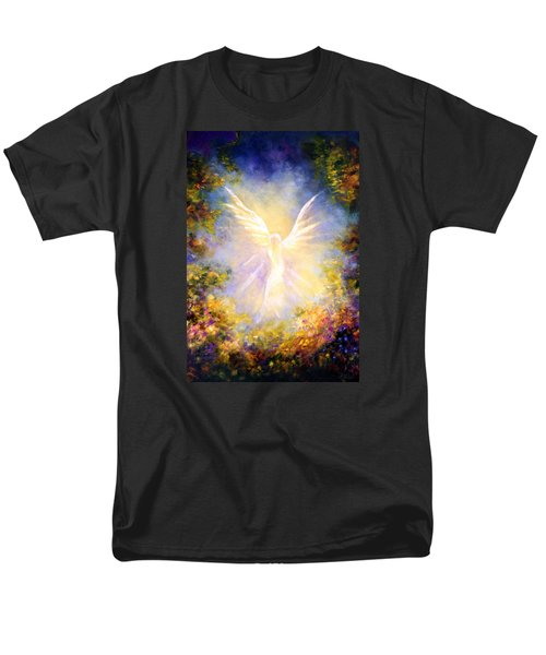 Angel Descending Men's T-Shirt  (Regular Fit) by Marina Petro