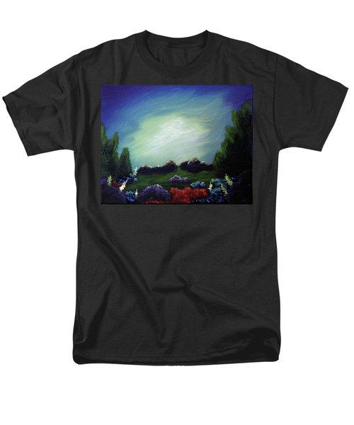 Angel On The Rocks Men's T-Shirt  (Regular Fit)