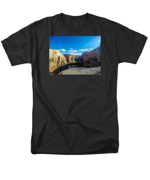 Angels Landing Men's T-Shirt  (Regular Fit) by Alpha Wanderlust