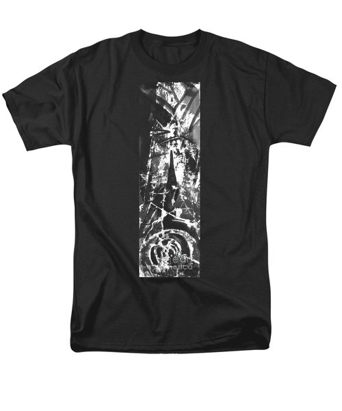 Men's T-Shirt  (Regular Fit) featuring the painting Anger by Carol Rashawnna Williams