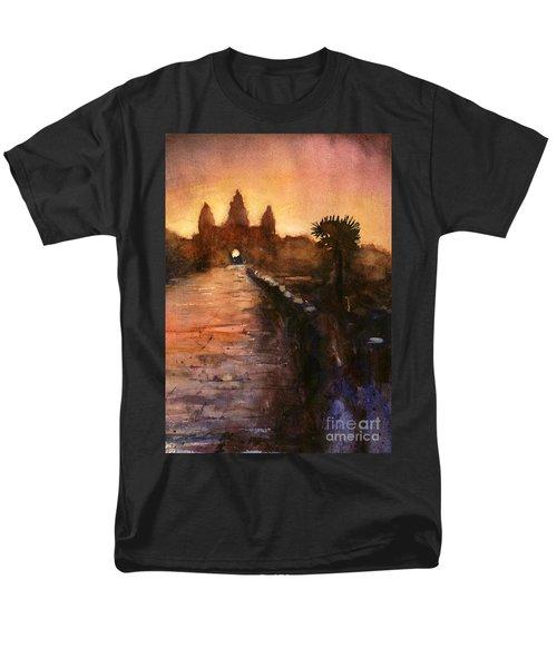 Angkor Wat Sunrise 2 Men's T-Shirt  (Regular Fit)
