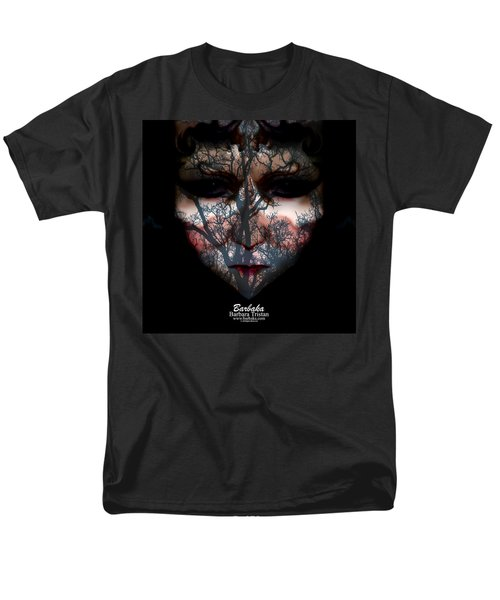 Angry Monster Child #4 Men's T-Shirt  (Regular Fit) by Barbara Tristan