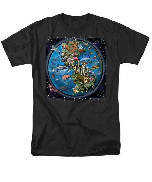Animal Planet Men's T-Shirt  (Regular Fit) by Kevin Middleton