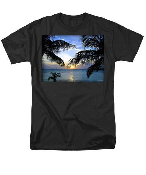 Another Key West Sunset Men's T-Shirt  (Regular Fit) by Joan  Minchak