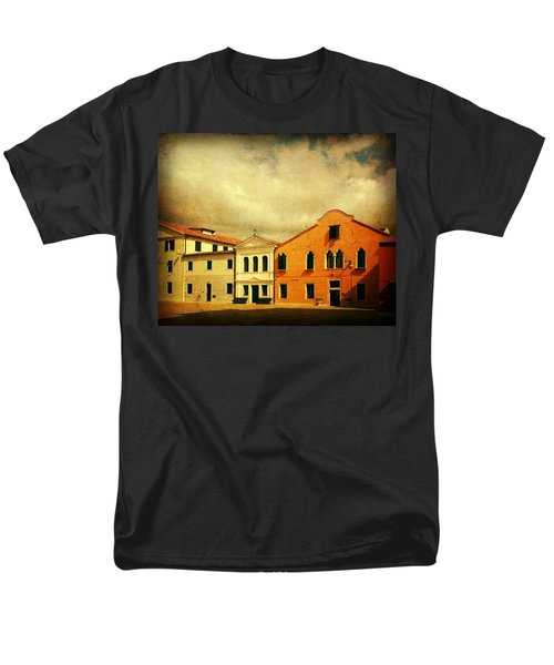 Men's T-Shirt  (Regular Fit) featuring the photograph Another Malamocco Day by Anne Kotan