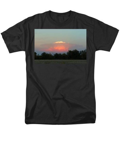 Men's T-Shirt  (Regular Fit) featuring the digital art Anvil Cloud Over Kirksville, Mo by Jana Russon