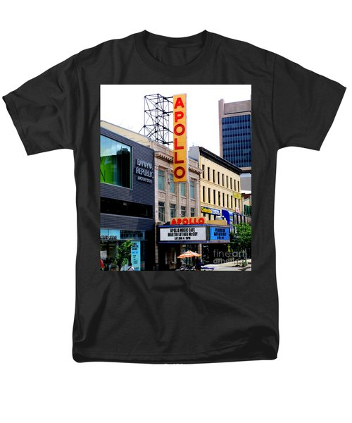 Apollo Theater Men's T-Shirt  (Regular Fit) by Randall Weidner