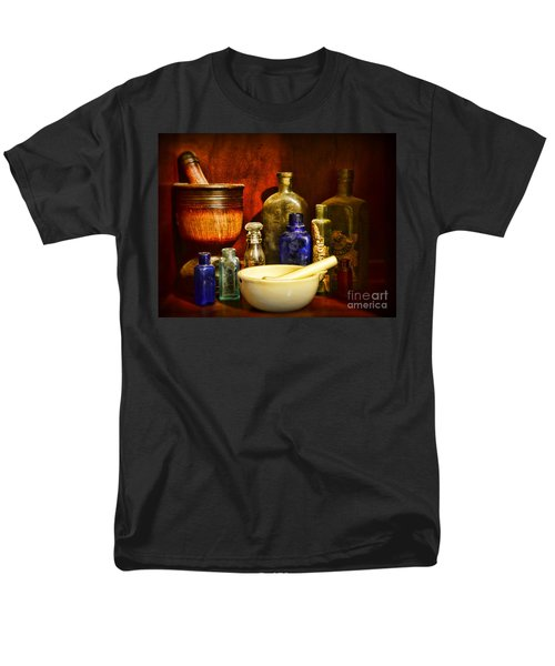 Apothecary - Tools Of The Pharmacist Men's T-Shirt  (Regular Fit) by Paul Ward