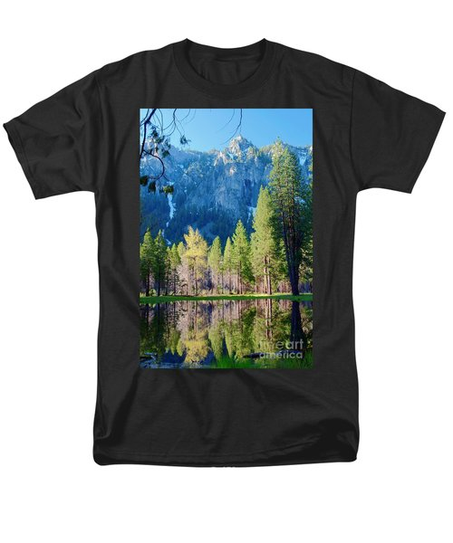 April Reflection Men's T-Shirt  (Regular Fit)