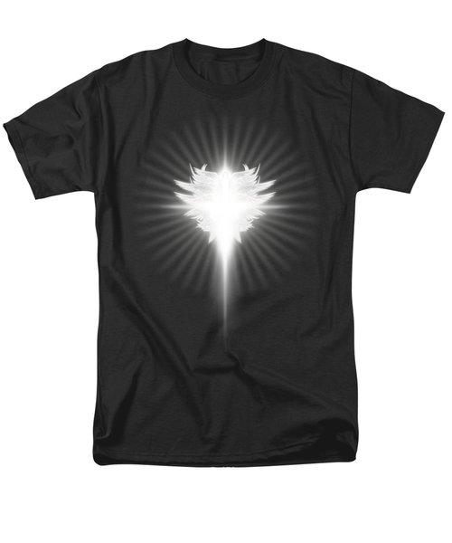 Archangel Cross Men's T-Shirt  (Regular Fit) by James Larkin