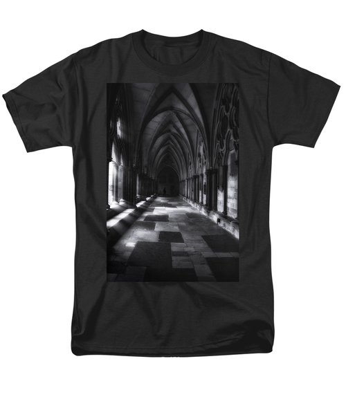 Men's T-Shirt  (Regular Fit) featuring the photograph Arched Corridor by Andrew Soundarajan