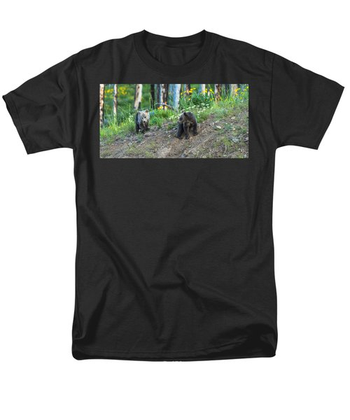 Men's T-Shirt  (Regular Fit) featuring the photograph Are You Coming With Me by Yeates Photography