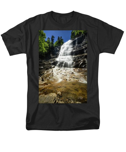 Men's T-Shirt  (Regular Fit) featuring the photograph Arethusa Falls by Robert Clifford