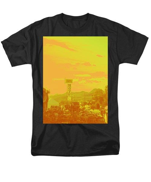 Men's T-Shirt  (Regular Fit) featuring the photograph Arizona Road I by Carolina Liechtenstein