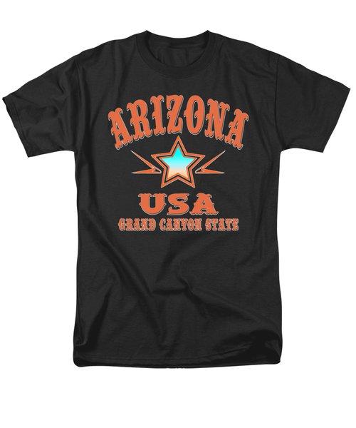 Arizona U. S. A. Grand Canyon State Men's T-Shirt  (Regular Fit)