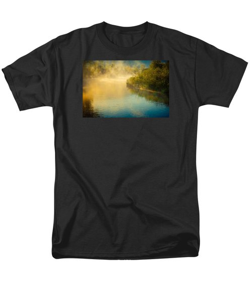 Men's T-Shirt  (Regular Fit) featuring the photograph Around The Bend by Don Schwartz