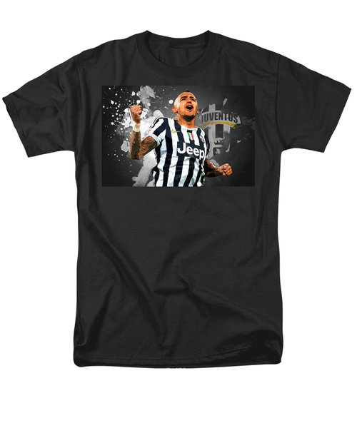 Arturo Vidal Men's T-Shirt  (Regular Fit) by Semih Yurdabak