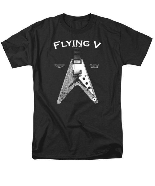 Gibson Flying V Men's T-Shirt  (Regular Fit) by Mark Rogan