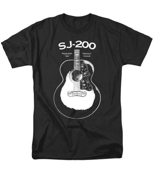 Gibson Sj-200 1948 Men's T-Shirt  (Regular Fit) by Mark Rogan