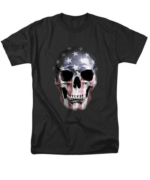 American Skull Men's T-Shirt  (Regular Fit) by Nicklas Gustafsson