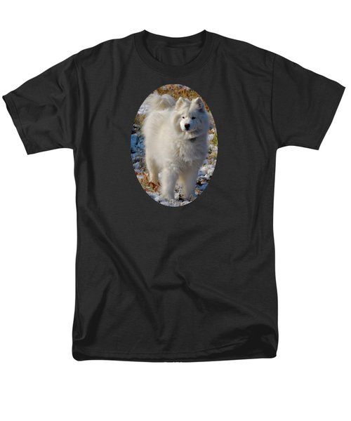 Men's T-Shirt  (Regular Fit) featuring the photograph First Snow by Lois Bryan