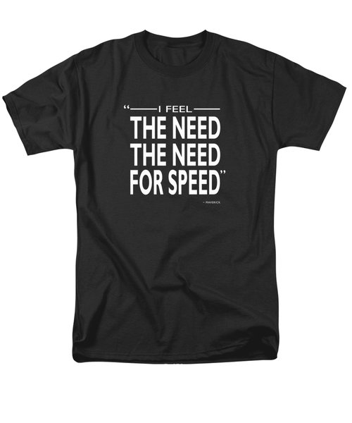 The Need For Speed Men's T-Shirt  (Regular Fit) by Mark Rogan
