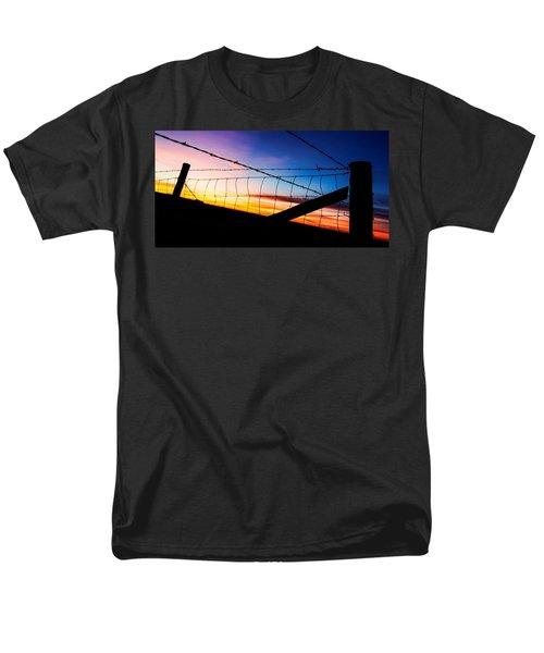 Hilltop Sunset Men's T-Shirt  (Regular Fit) by Bill Kesler