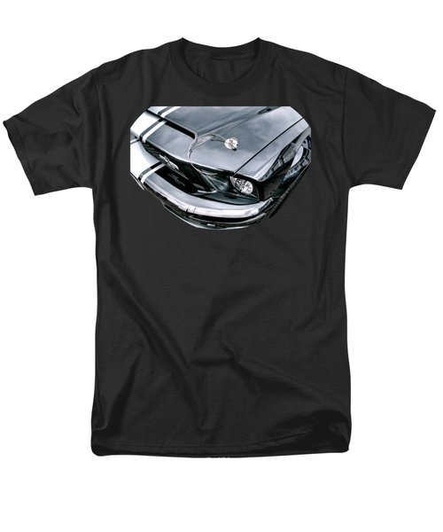 Shelby Super Snake At The Ace Cafe London Men's T-Shirt  (Regular Fit) by Gill Billington