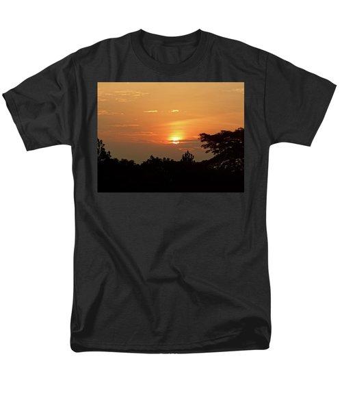 As The Sun Sets ... Orange Men's T-Shirt  (Regular Fit) by Exploramum Exploramum
