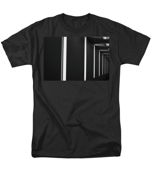 Asheville Abstract  Men's T-Shirt  (Regular Fit) by Gray  Artus