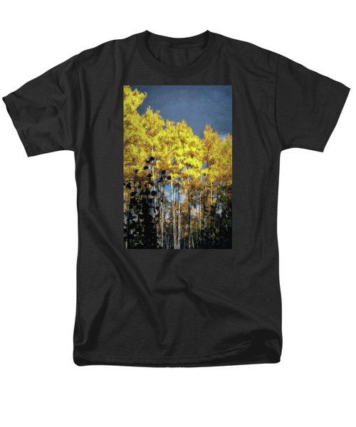 Men's T-Shirt  (Regular Fit) featuring the photograph Aspen Impressions by Jim Hill