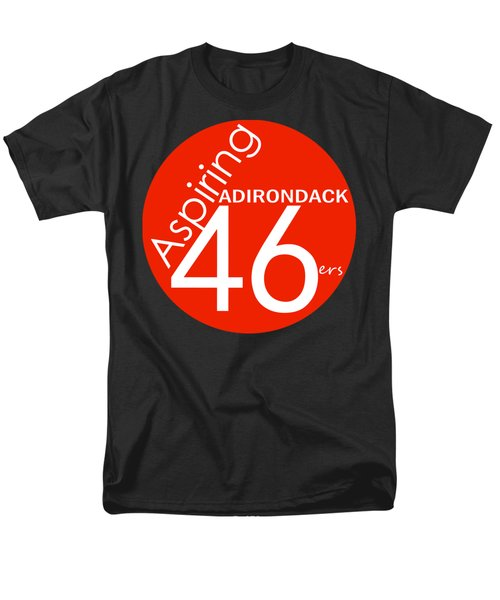 Aspiring Adirondack 46ers Trail Marker Men's T-Shirt  (Regular Fit)