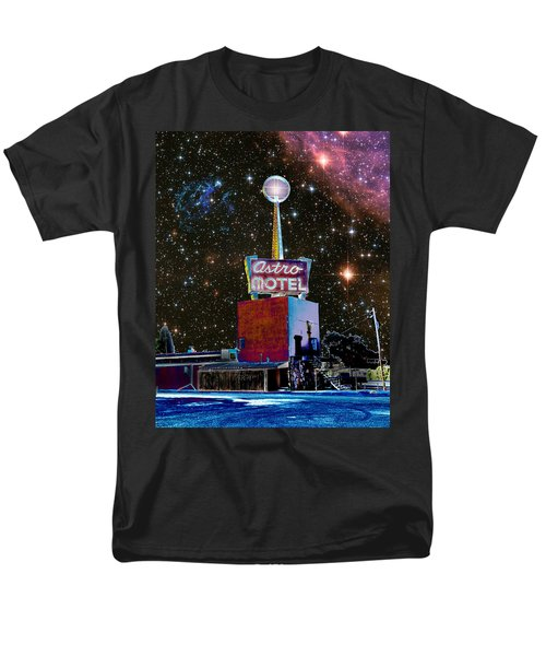 Men's T-Shirt  (Regular Fit) featuring the photograph Astro Motel by Jim and Emily Bush