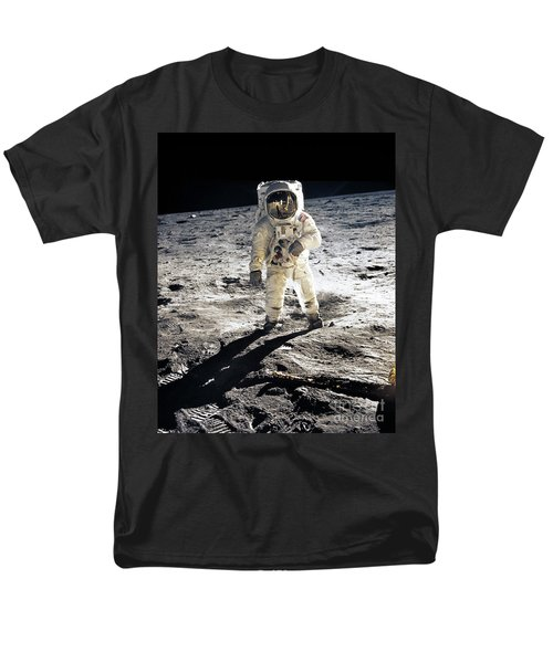 Astronaut Men's T-Shirt  (Regular Fit) by Photo Researchers